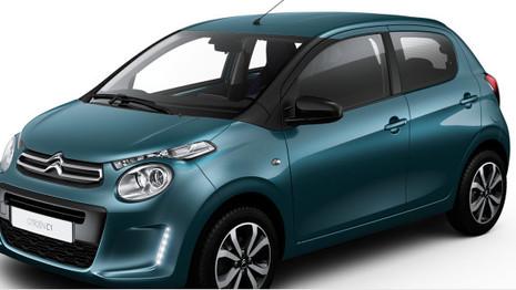 Une nouvelle couleur pour la Citroën C1 en Italie