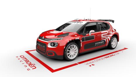 La Citroën C3R5 devient C3 Rally 2