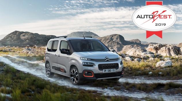 Citroën reçoit deux prix Autobest 2019