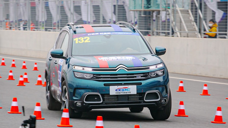 Le Citroën C5 Aircross offre la meilleure tenue de route en Chine