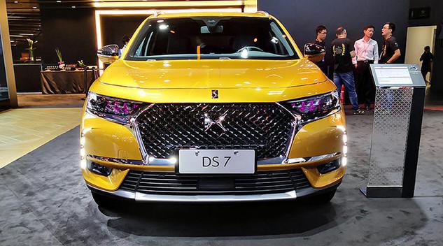 Le DS7 met sa gamme à jour en Chine
