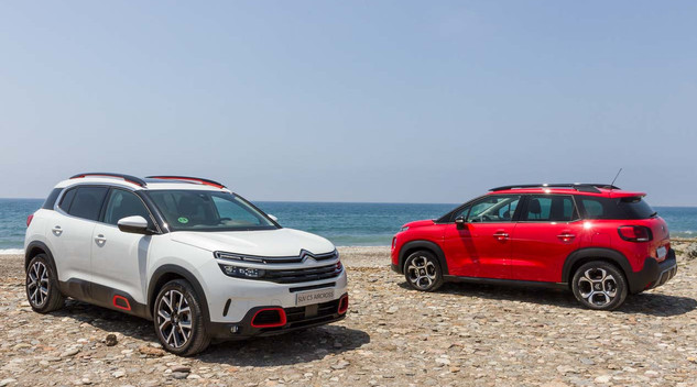 Les SUV Citroën à l'essai dans le désert espagnol
