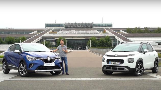 Comparatif vidéo : Le Citroën C3 Aircross affronte le nouveau Renault Captur