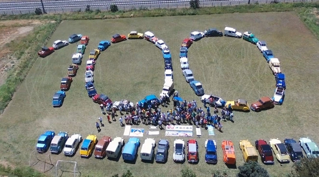 Citroën fête son centenaire au Chili