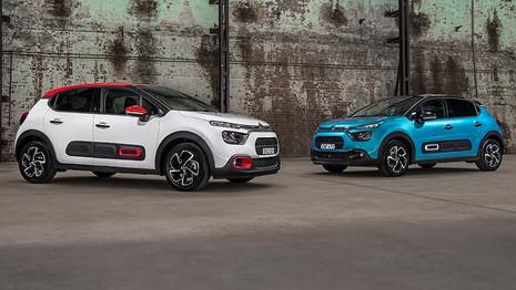 La Citroën C3 restylée en vente en Australie
