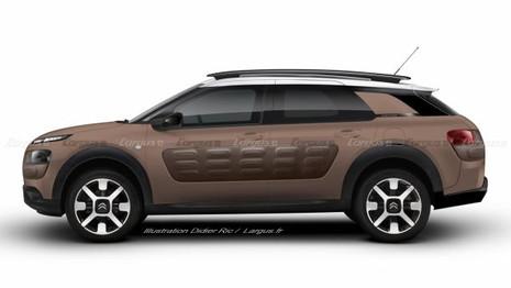 Citroën E32 : Le C4 Cactus que nous n'avons pas eu