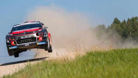 WRC - Rallye d'Estonie : Une participation instructive pour Citroën