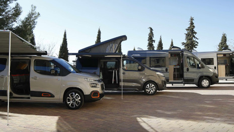 Une gamme complète de vans aménagés pour Citroën