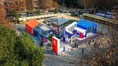 Citroën Space : Quand Citroën amène un peu de France en Chine