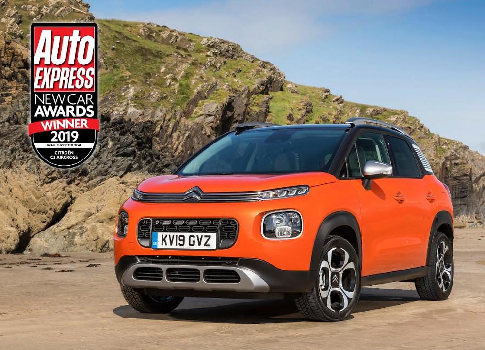 passionnément citroen, blog citroen, citroen, c3 aircross, berlingo, autoexpress; new car awards, 2019