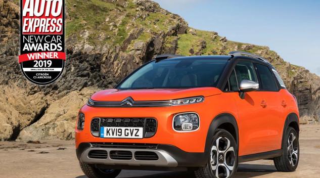 Deux récompenses pour Citroën en Angleterre