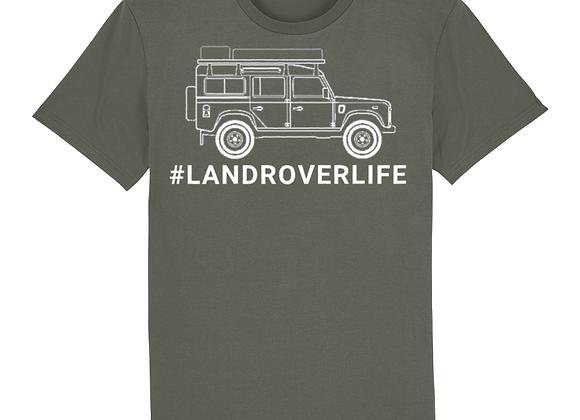 #LandRoverLife 100% cotton T-Shirt