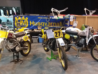 International Classic Dirt Bike show - Day One