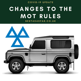 Your vehicle and the MoT