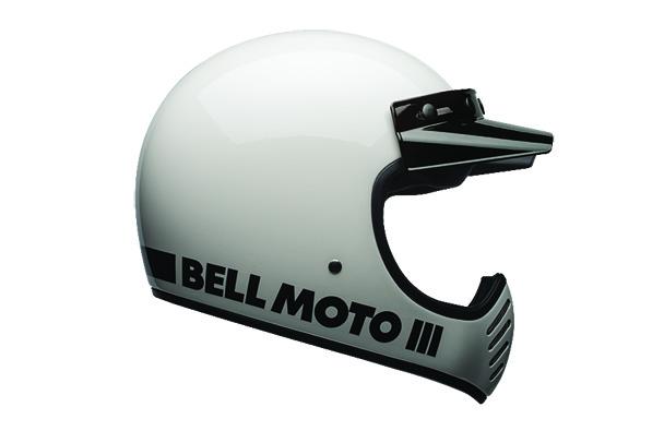 Moto-3 White Classic label