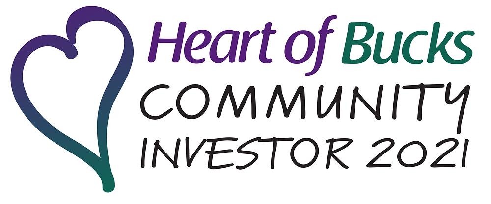 Heart of Bucks Community Investor 2021 logo