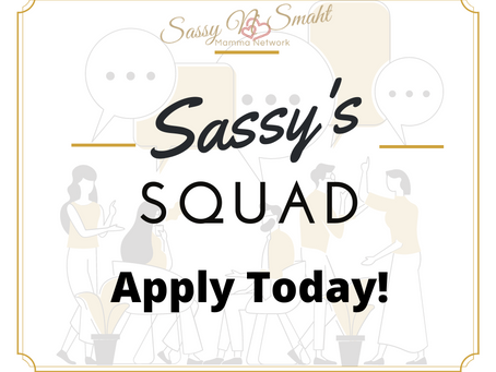 Sassy's Squad: Apply now to be a brand ambassador!