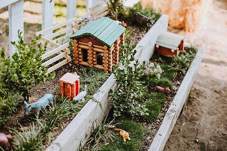 Interactive sensory Children's Garden