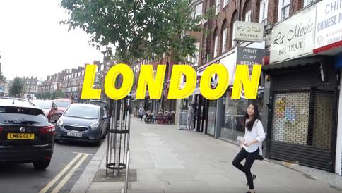 LONDON *2 | 飲酒行山初體驗 | 伊莉莎白