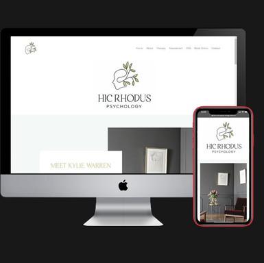 Hic Rhodus Psychology Website