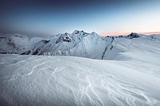 Snow Sunset