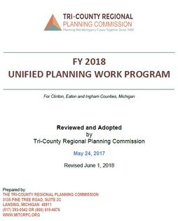 FY 2018 Unified Planning Work Program