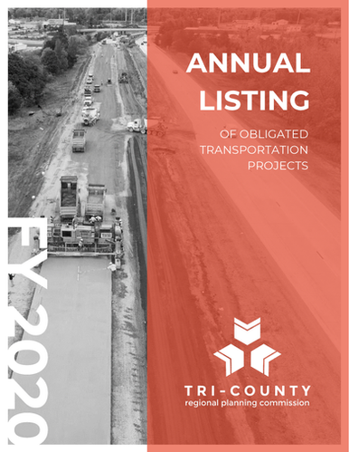 FY 2020 Annual Listing of Obligated Transportation Projects