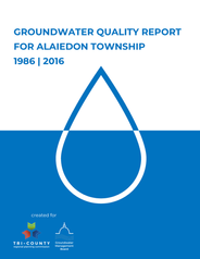 Alaiedon Township Groundwater Quality Report