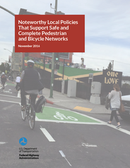 FHWA Noteworthy Local Policies