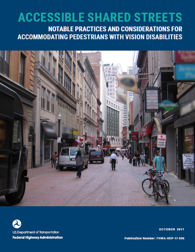 FHWA Accesible Shared Streets