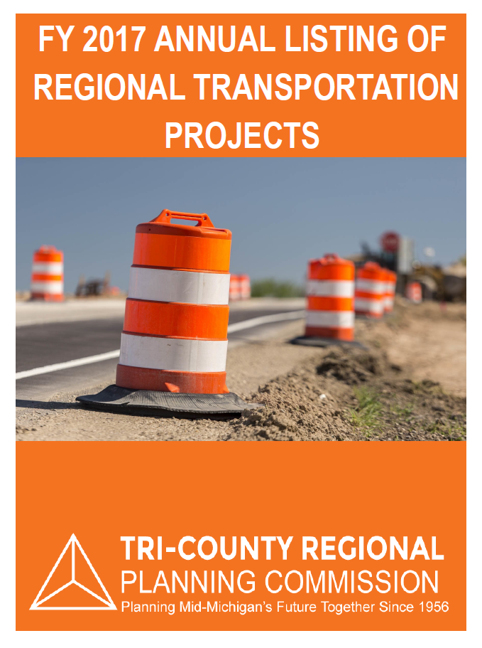 FY 2017 Annual Listing of Regional Transportation Projects