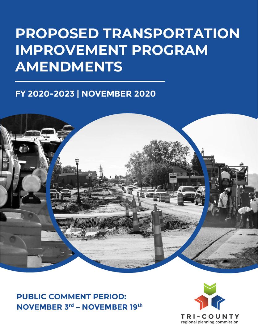Proposed TIP Amendments - Nov. 2020