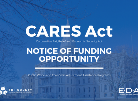 U.S. Economic Development Administration Notice of Funding Opportunity