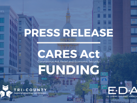 Tri-County Awarded $400,000 to Support Greater Lansing Region in Economic Recovery