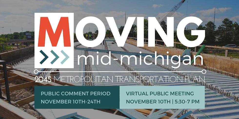 Public Meeting | Draft 2045 Metropolitan Transportation Plan