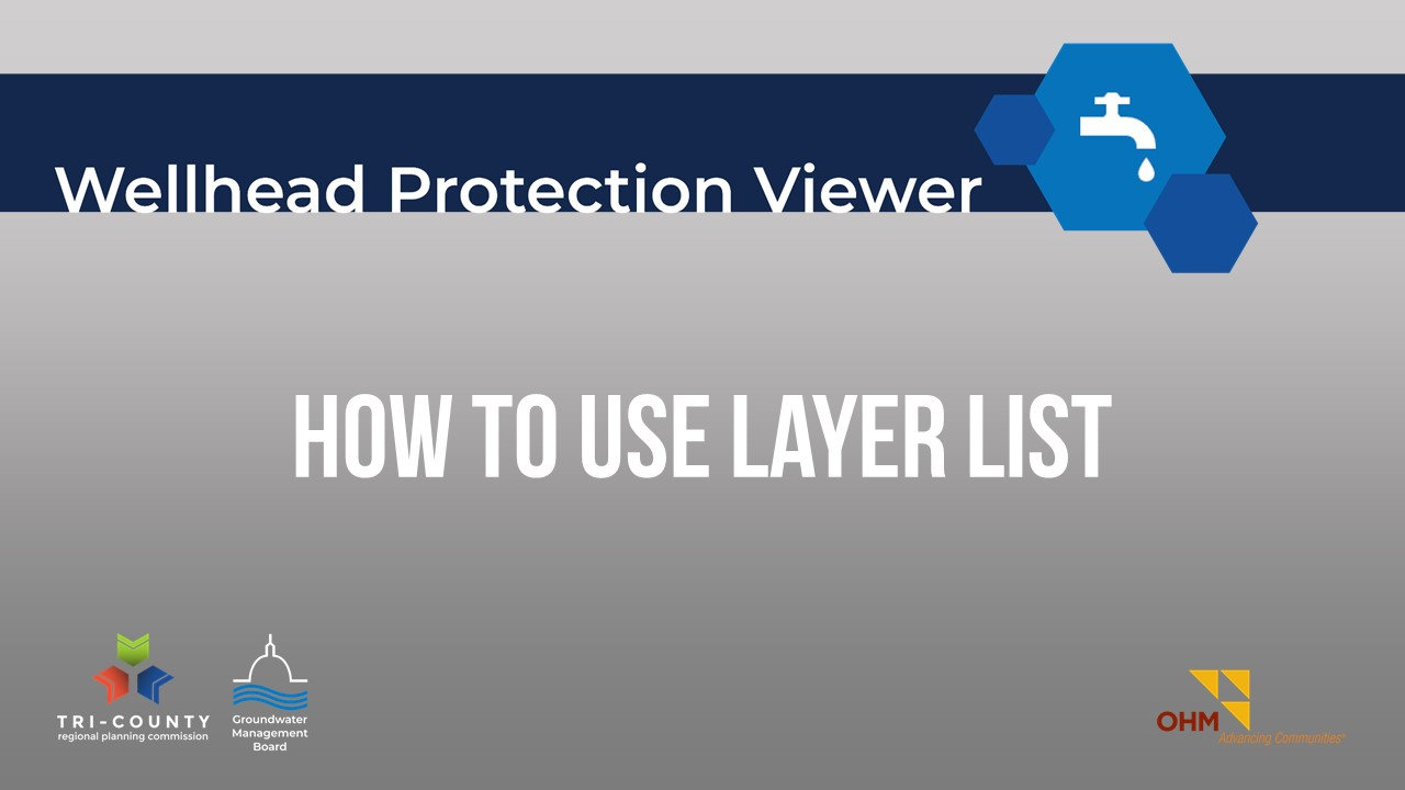 How to Use the Layer List