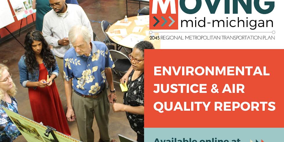 2045 MTP Environmental Analyses Public Meeting