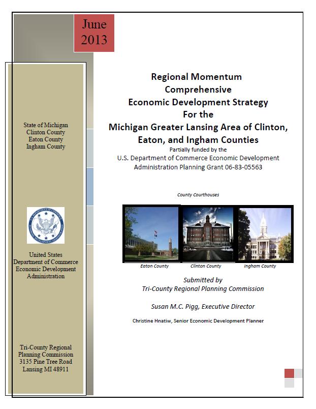 2013 Comprehensive Economic Development Strategy