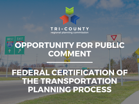 Opportunity for Public Comment on the Transportation Planning Process