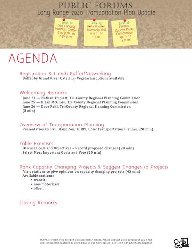 Results of June 2014 Public Forum