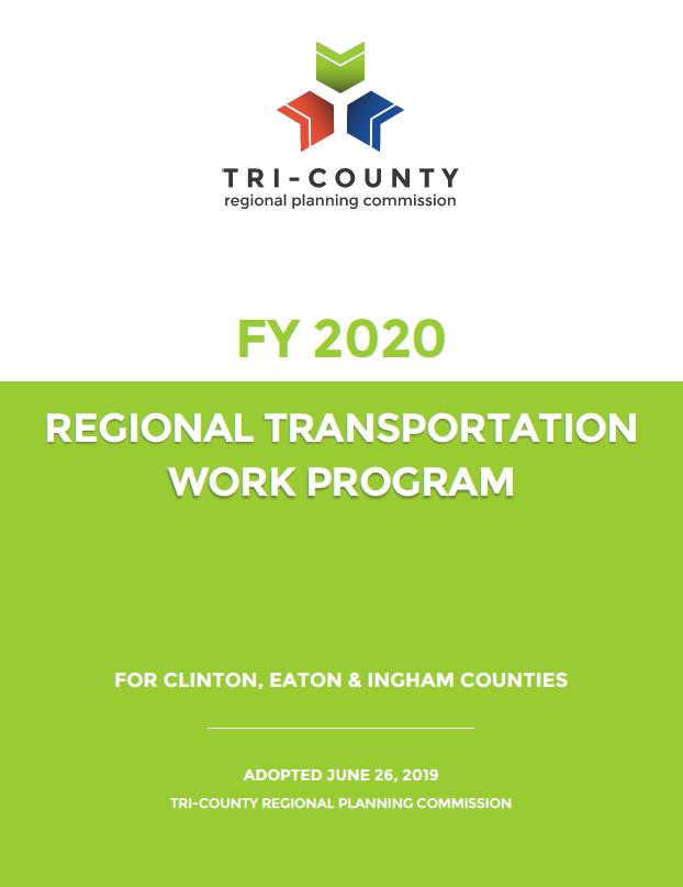 FY 2020 Regional Transportation Work Program