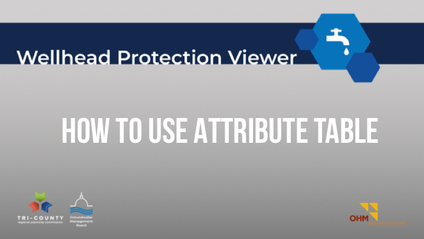 How to Use the Attribute Table