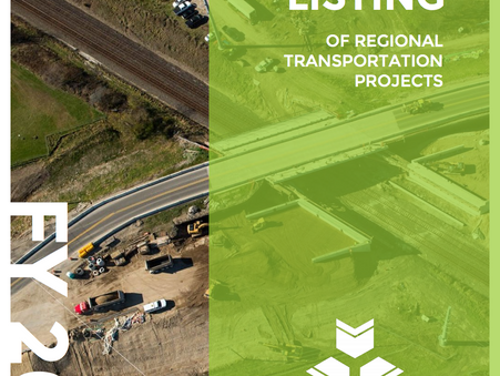 Listing of 2018 Transportation Projects Now Available