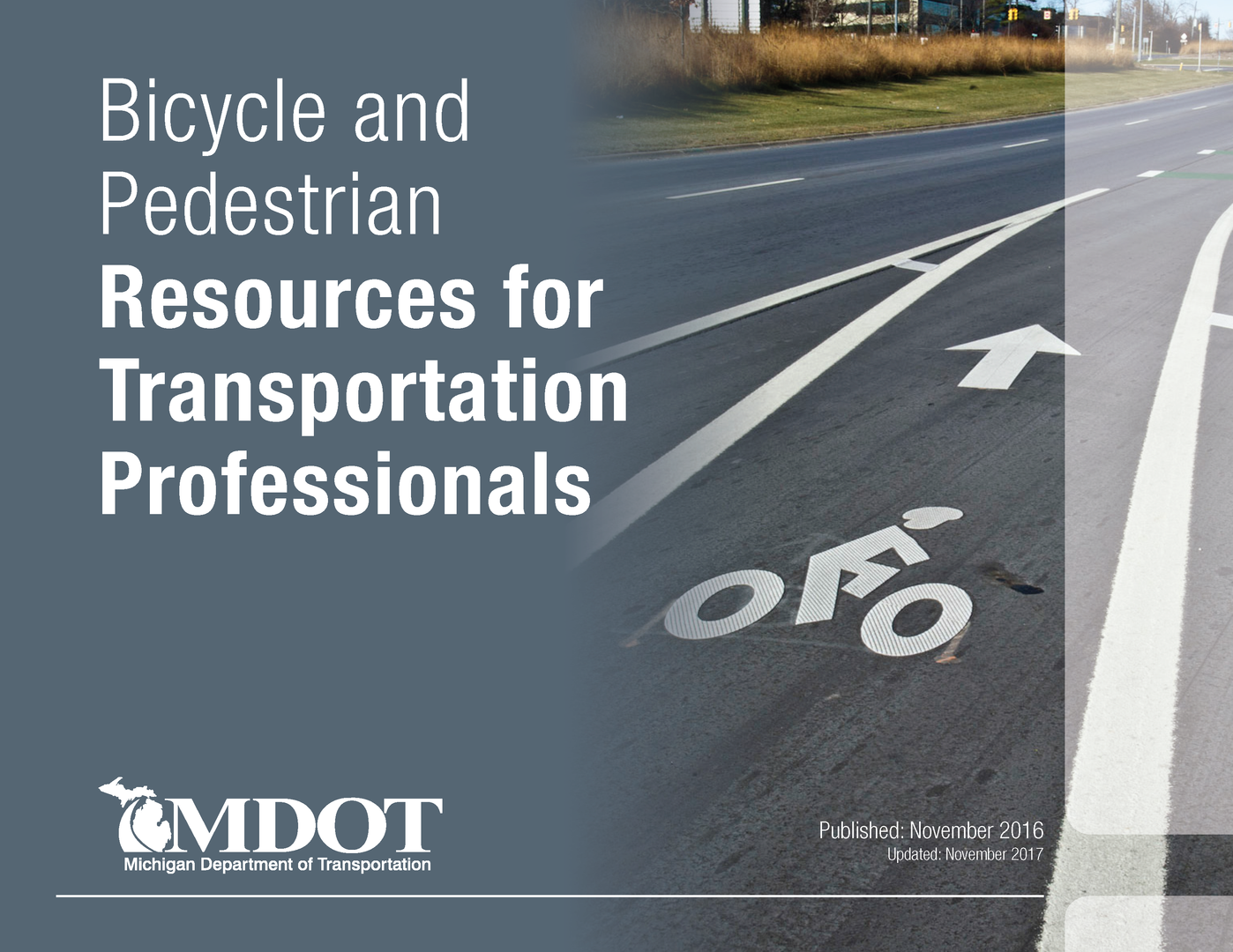MDOT Resources for Transportation Professionals