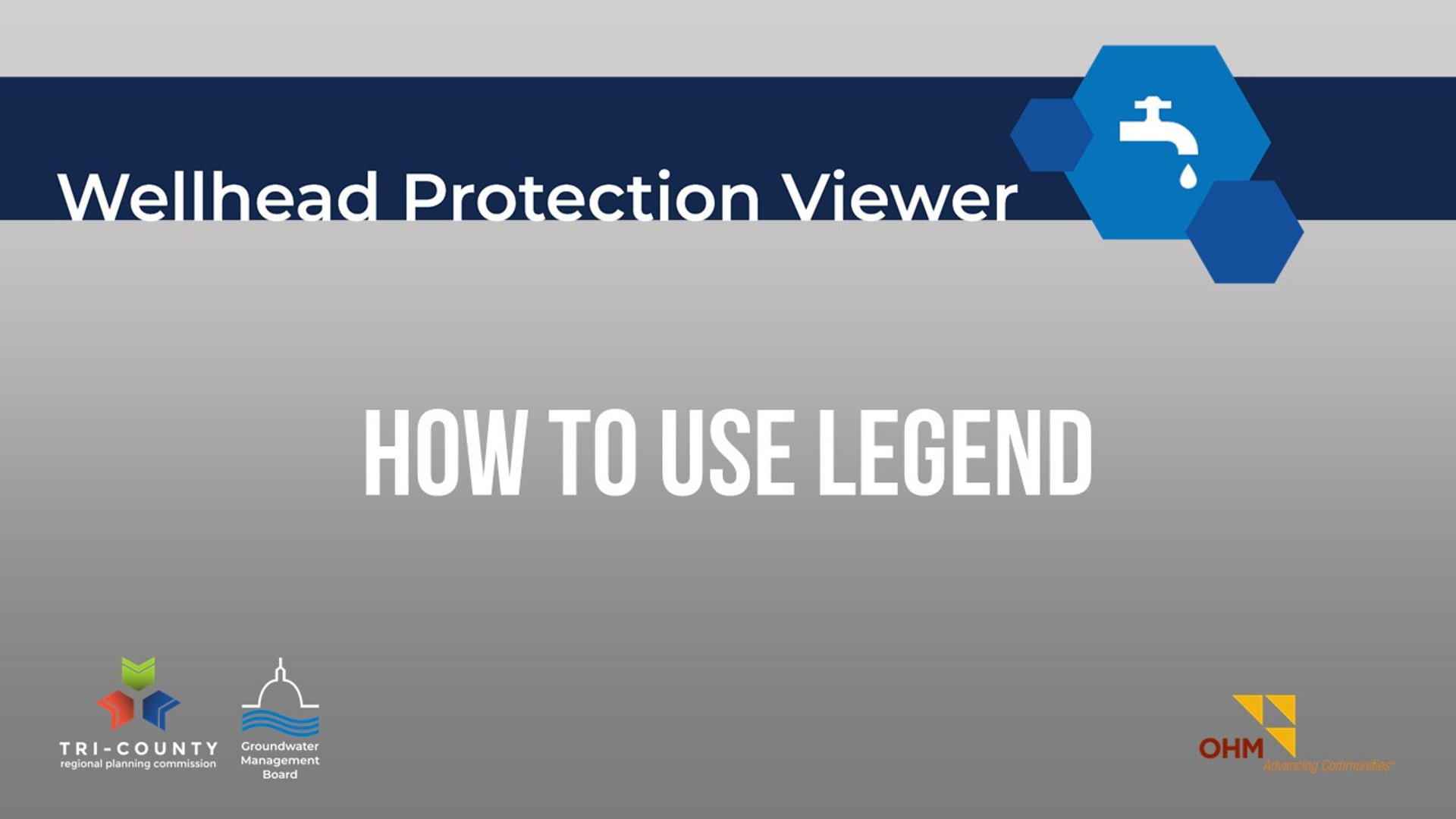 How to Use the Legend