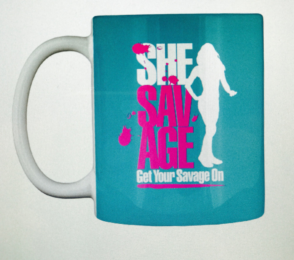 SheSavage, coffee mug