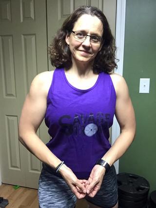 Lovely Lori (check out those guns!)