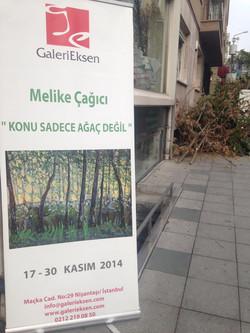 Galeri Eksen,4. kişisel sergi