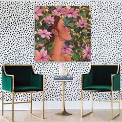 60x60cm tuval üzerine akrilik boya #art