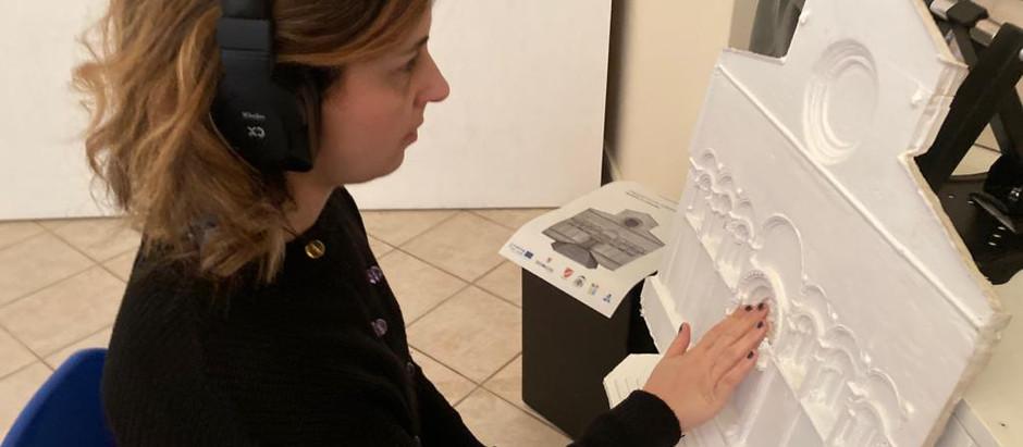 Un plastico 3D della Cattedrale di Termoli per un tour accessibile a tutti